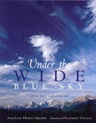 Under the Wide Blue Sky Book, Front Cover